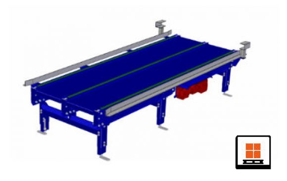 Pallets conveyors