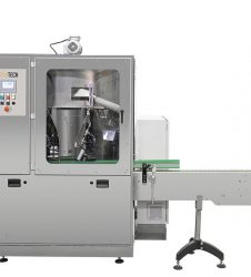 Image of the rotary unscrambler machine for bottles ROTRAK AFF with automatic format changeover