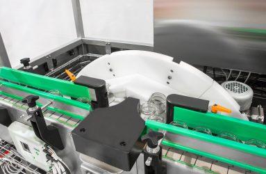 Carrousel de la rinceuse rotative par conteneurs vides de verre, plastic et canettes