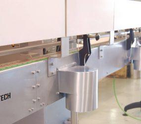 Estructura del transportador aspirado fabricado en acero inoxidable | Traktech SL