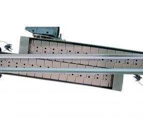 Vista aérea del sistema de traspaso entre transportadores aspirados | Traktech SL
